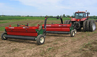 Double Seeder Hitch