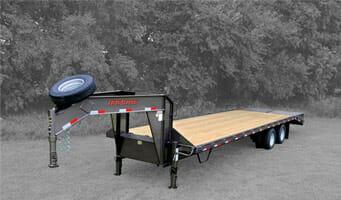 Deckover Trailer-7,000 lbs. Axles